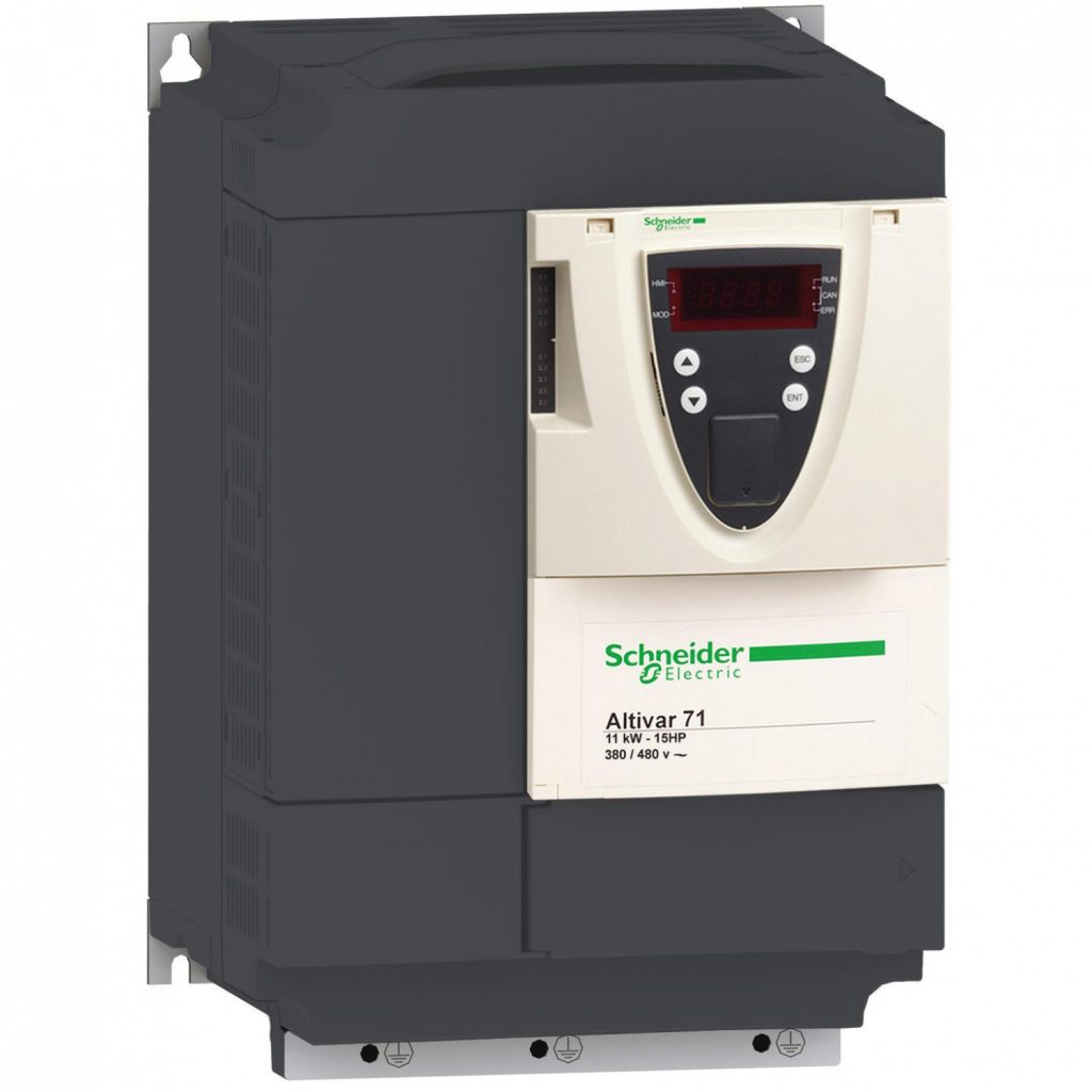 Schneider Electric Altivar ATV71 (0,37 кВт, 220 В, 1 Ф) ATV71H037M3S337